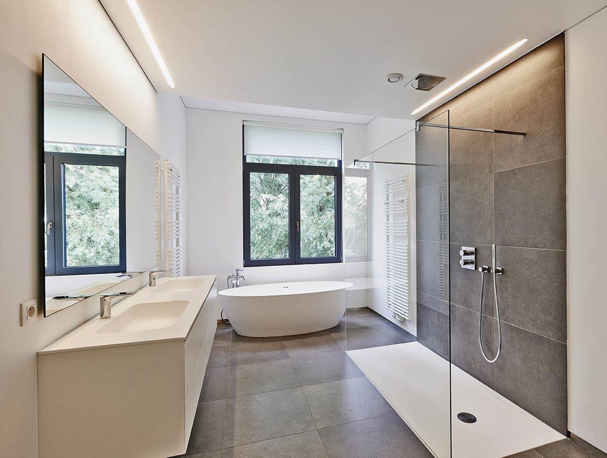 Miroir Salle De Bain Eclairage Led ~ r novation salle de bains lyon 69 batiart cr ation